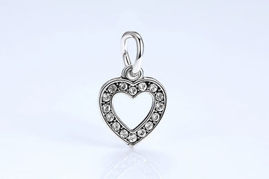 TOP Quality Symbol Of Love 925 Silver Charm