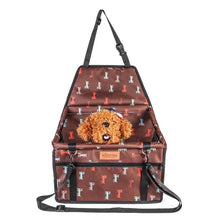 Load image into Gallery viewer, Portable Oxford cloth Pet Car Seat Folding Travel Booster Bag Safety Carrier Belt For Doggy & Puppy