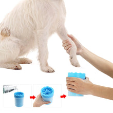 Load image into Gallery viewer, Dogs Foot Clean Tool For Dogs Cleaning Tools Soft Plastic Washing Brush Paw Washer Pet Accessories for Dog