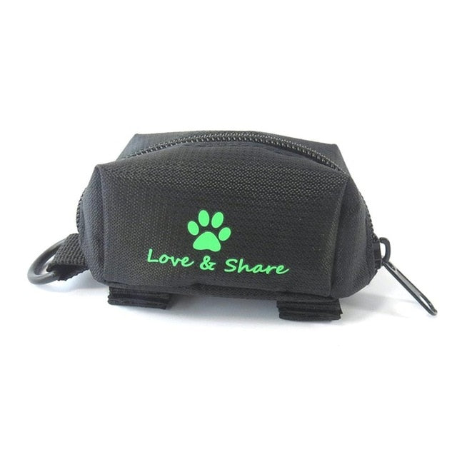 Small Size Waterproof Oxford Cloth Pets Dogs Waste Poop Bag Storage Bag Durable Outdoor Dog Walking Garbage Bag Carrier