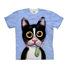 Load image into Gallery viewer, Dog t shirt 3-D t-shirt Summer Tee Prints Top Short Sleeve