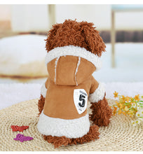 Load image into Gallery viewer, Stylish Warm dog coat, jacket  hoodies Doggy