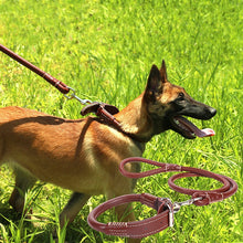 Load image into Gallery viewer, Dog collar and leash set for small medium and large dogs
