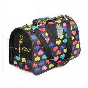 Multi-color multi-pattern 6 different Doggy carry travel bag Oxford cloth