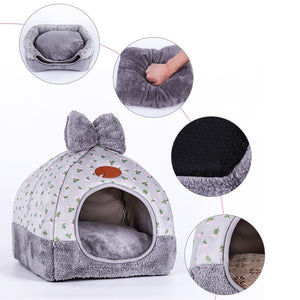 Foldable dog beds for small medium large dogs sofa Dog House Kennel