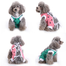 Load image into Gallery viewer, Dog Surgical Clothes For Dogs Cotton Medical Protect After Surgery Paw Printed Dog Recovery Clothes XS-S-M-L