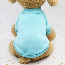 Load image into Gallery viewer, Doggy hoodie solid color sweater, warm doggy clothes