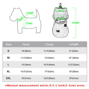 Comfortable Soft  Dog Coat Dog Clothes