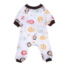 Load image into Gallery viewer, Dog Pajamas Cotton  Jumpsuit Sleeping Clothes Apparel Clothing for Dogs