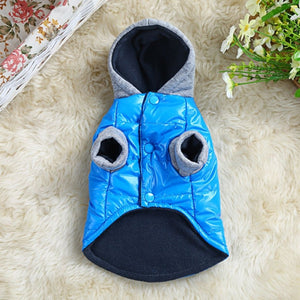 Comffy thick warm dog coat comfortable casual Hoody