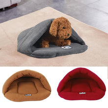 Load image into Gallery viewer, Soft cushion Fleece Doggy sleeping bag for your Doggy