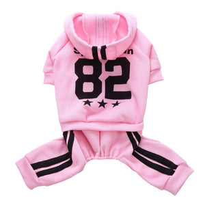 Dog Breathable Casual Sports Sweat Suit Hoody Clothes