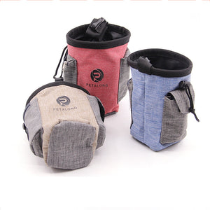 denim Jean Dog Outdoor Treat/Snack Pouch Food Bag ,Dog Snack Bag, Dog Training Treat Bag Dog snack Pouch