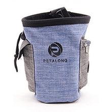 Load image into Gallery viewer, denim Jean Dog Outdoor Treat/Snack Pouch Food Bag ,Dog Snack Bag, Dog Training Treat Bag Dog snack Pouch