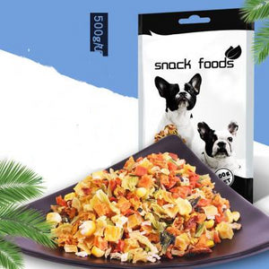 Doggy Treats 500g/bag vegetable dog food healthy delicious & nutritious Doggy snacks