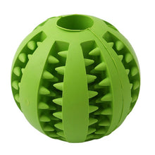 Load image into Gallery viewer, Dog Toys Bite Resistant Toy Ball for Pet Dog Food Treat Feeder Teeth Cleaning Ball