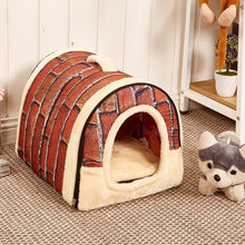 Load image into Gallery viewer, Soft Cozy Dog Bed/House Warm Washable
