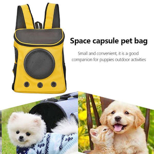 Breathable Dog Carriers Bag Pet Carrier Backpack Dog Portable Outdoor Mesh Carrying Bags