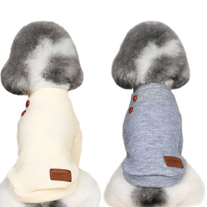 Comfortable Cute Dog Sweatshirts Puppy Jacket Clothing Sweater Apparel Coat