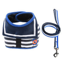 Load image into Gallery viewer, Dog Collar/Leash, Chest Strap Summer Breathable  Harnesses Leash