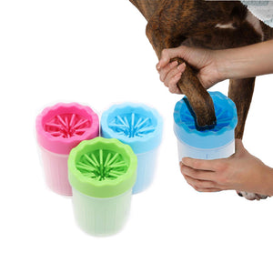 Dogs Foot Clean Tool For Dogs Cleaning Tools Soft Plastic Washing Brush Paw Washer Pet Accessories for Dog