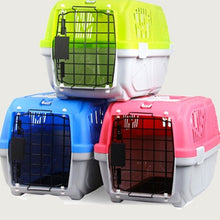 Load image into Gallery viewer, Doggy Air Plane Transport Box Portable Dog Carrier Outgoing Travel  Breathable Kennel