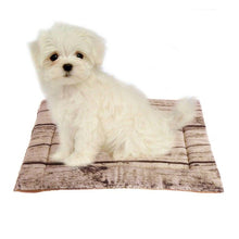 Load image into Gallery viewer, Soft Tree Pattern  Dog Cushion Bed Portable Soft Warm Skin-Friendly Fleece Soft  Bed