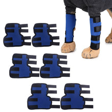 Load image into Gallery viewer, 1 Pair dog Leg Brace Dog Leg Joint Wrap Support Injury Protector Therapeutic
