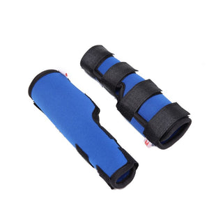 1 Pair dog Leg Brace Dog Leg Joint Wrap Support Injury Protector Therapeutic