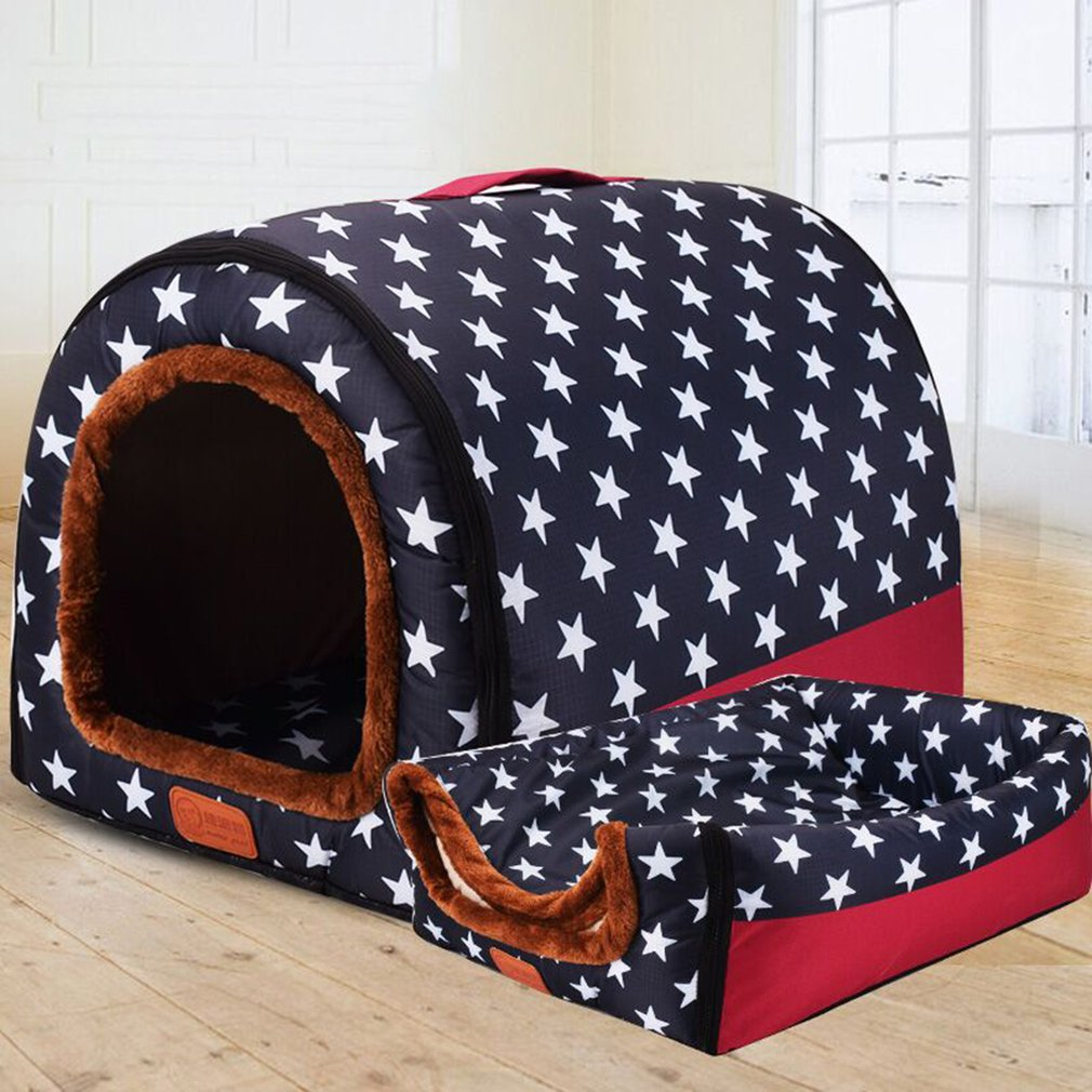 Fashion Arc House Fully Washable Pet Kennel/House  Portable Dog House Kennel