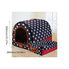 Load image into Gallery viewer, Fashion Arc House Fully Washable Pet Kennel/House  Portable Dog House Kennel