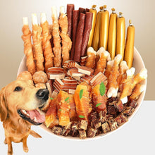 Load image into Gallery viewer, 8 kinds of Dog Snacks package, Fresh Beef, Chicken, Duck, Doggy treats. delicious & nutritious