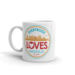 Everybody Loves Nashville 11oz. Logo MUG!