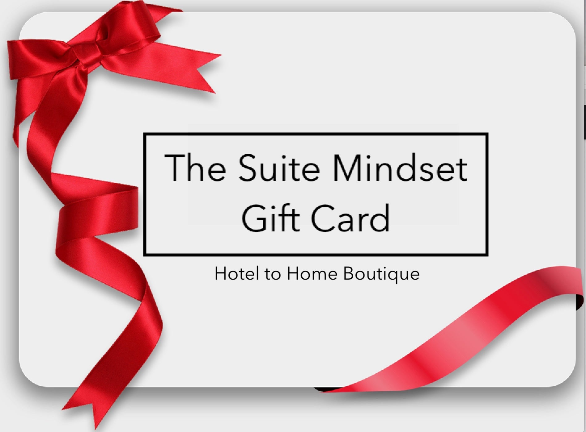 The Suite Mindset gift card