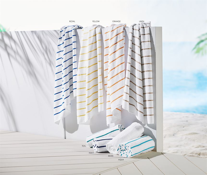 Ritz Cabana Towel by TY Group