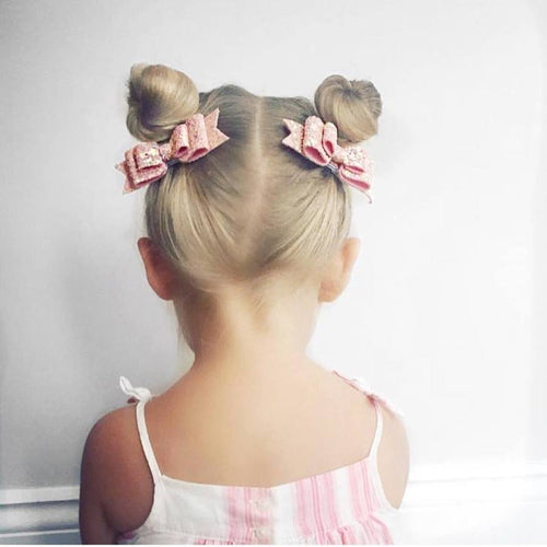 INDIA DOUBLE BOW PIGTAIL SET