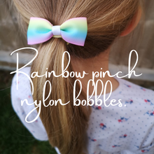 Load image into Gallery viewer, RAINBOW PINCH NYLON BOBBLE