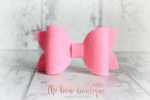 LARGE DELUXE FELT CLIPS (27 COLOURS)