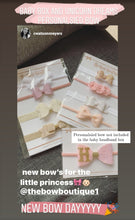 Load image into Gallery viewer, BABY HEADBAND BOX