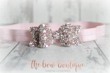 Load image into Gallery viewer, SMALL CHUNKY GLITTER HEADBANDS (20  COLOURS)