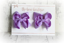 Load image into Gallery viewer, RIBBON PIGTAIL BOW SETS (28 COLOURS)
