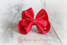 Load image into Gallery viewer, RIBBON BOW CLIPS (28 COLOURS)