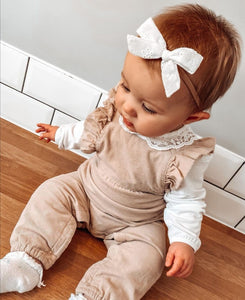 Everley- Timeless bow nylon headbands