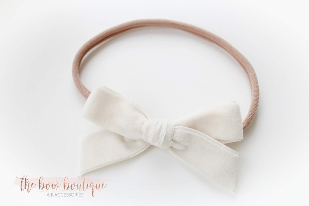 Velvet headbands ( 2 colours )