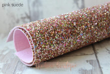 Load image into Gallery viewer, MEDIUM DELUXE GLITTER NYLON BOW HEADBANDS (50 COLOURS)
