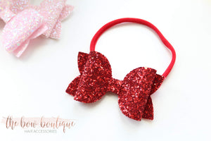 Large deluxe glitter headbands (43 Colours)