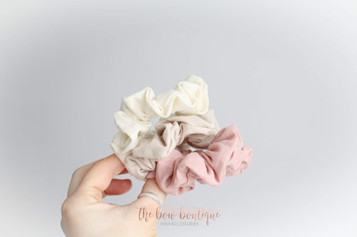 Mini adult scrunchies (3 Colours)