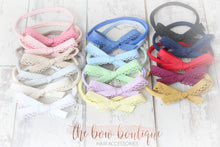 Load image into Gallery viewer, Hand tied nylon headbands (15 Colours)