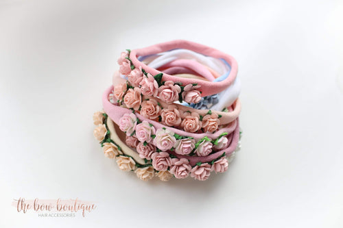 Delicate flower headbands (9 Colours)