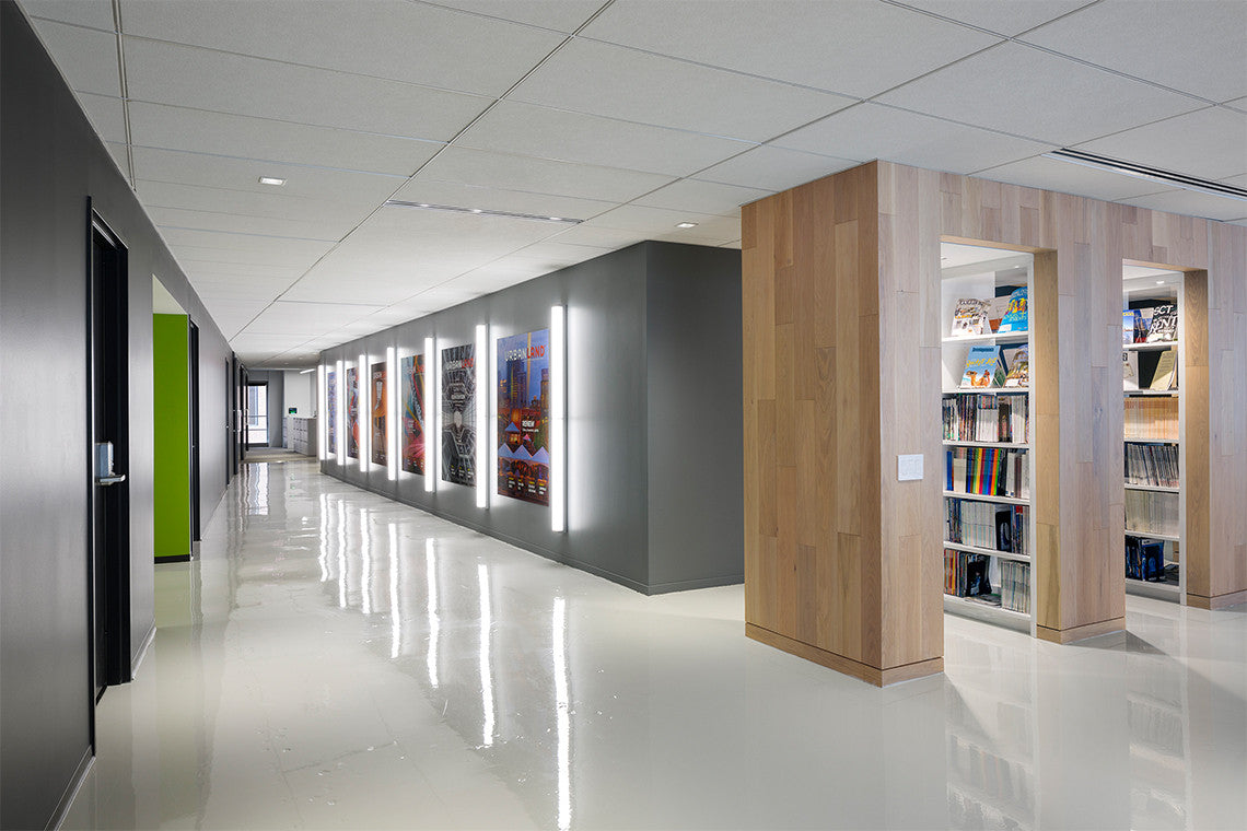 Urban Land Institute's hall and library, designed by STUDIOS Architecture